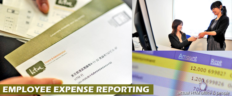 employee expense reporting services